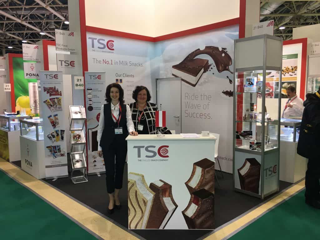 Sales Team of TSC at PRODEXPO Moscow