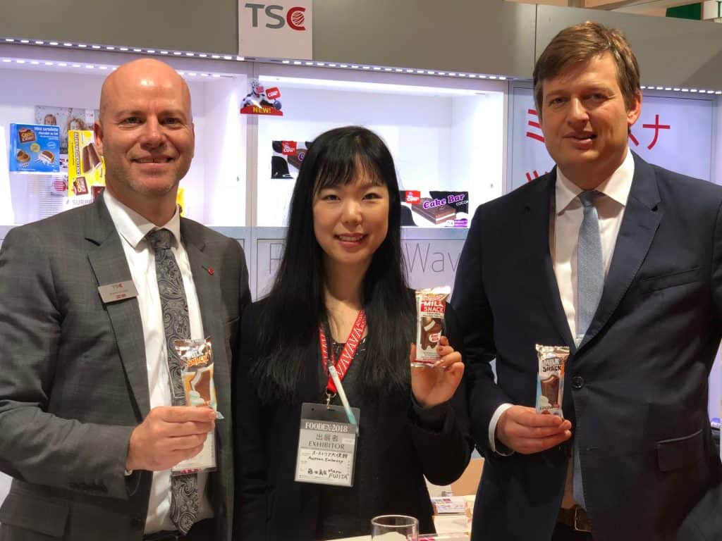 TSC at Foodex Tokyo_2018_Austrian Pavilion